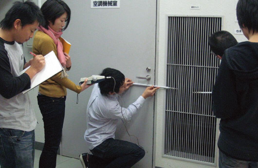 建築環境測定(風速測定)