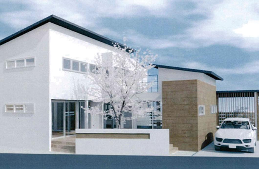 木造2 階建住宅設計 内観模型
