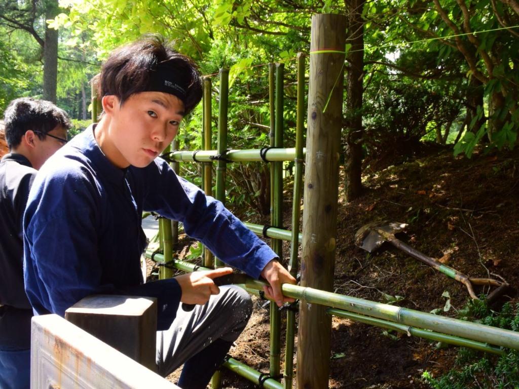 軽井沢造園実習に行ってきました。その③